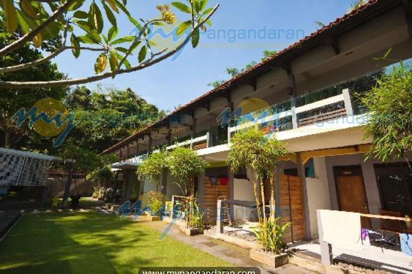 Tampilan Java Cove Beach Hotel Pangandaran